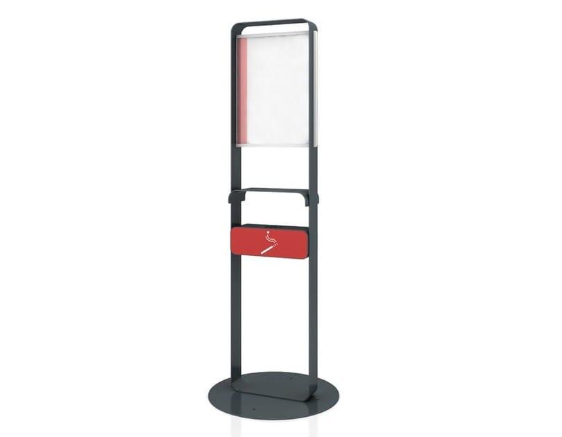 Steel notice board / ashtray JOEY by LAB23 Gibillero Design