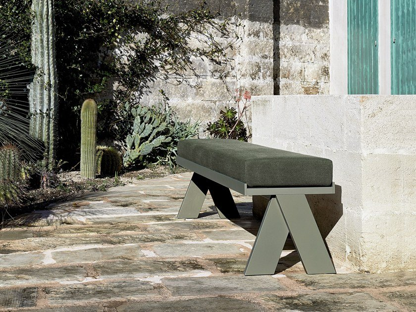 Wooden bench JOI | Bench by Meridiani