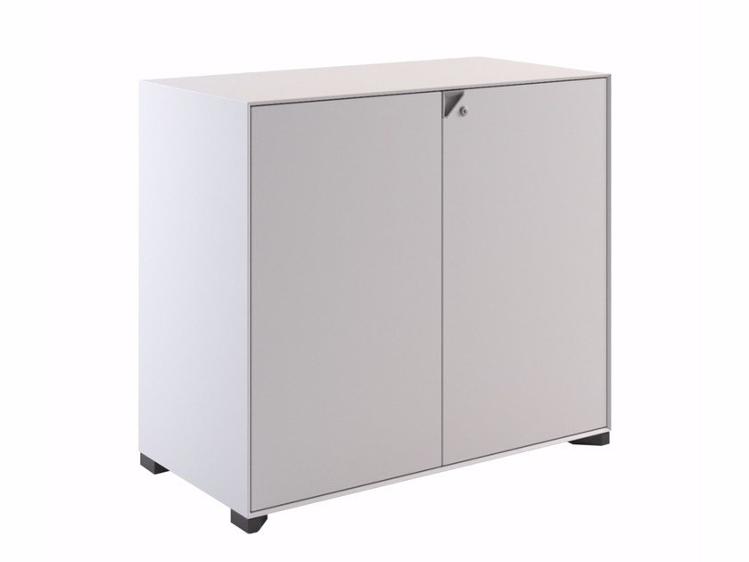 Low plate office storage unit with lock JOINT | Low office storage unit by Steelbox by  sc 1 st  Archiproducts & JOINT | Low office storage unit By Steelbox by Metalway