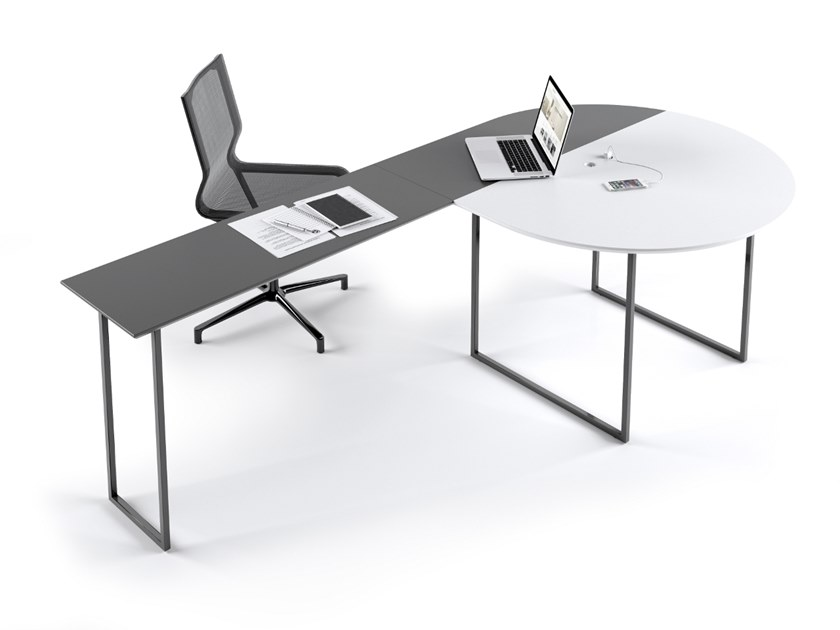 Sectional office desk JOINT VENTURE by La Manufacture du Design