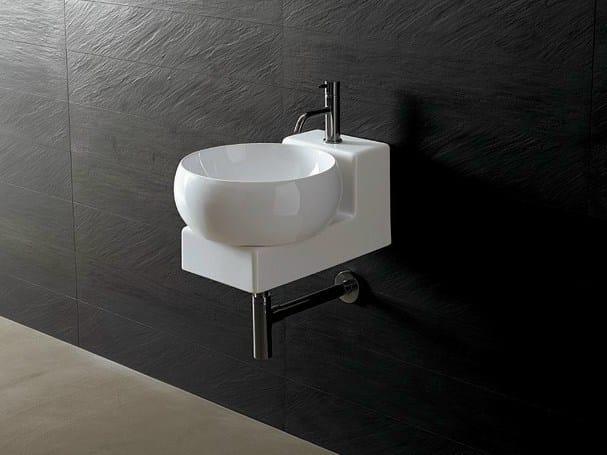 Handrinse basin round JOKER CHEESE by Alice Ceramica