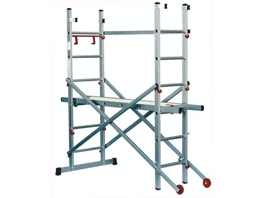 Aluminium heavy duty ladder JOKER by Frigerio Carpenterie