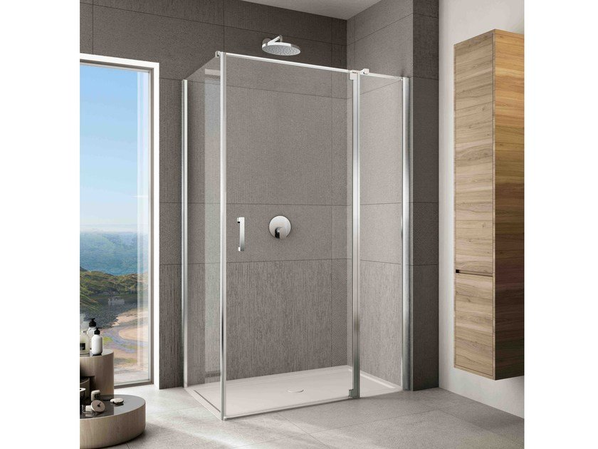 Corner shower cabin JOLLY JT-2 by Provex Industrie