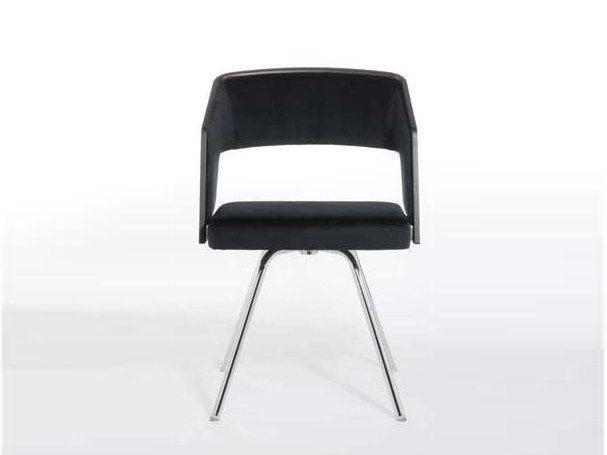 Upholstered chair with armrests JOLLY | Upholstered chair by Potocco
