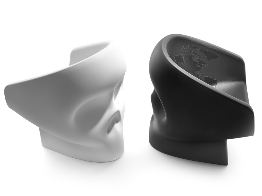 Polyethylene easy chair JOLLY ROGER by Gufram