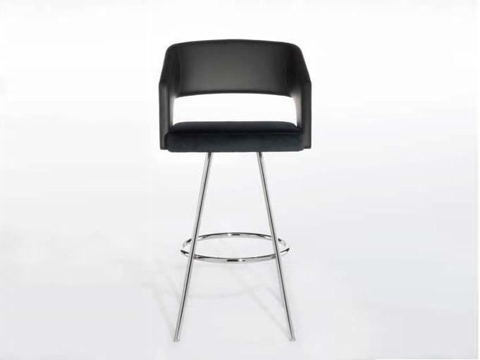 High stool with armrests JOLLY | High stool by Potocco