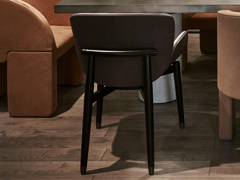 JORGEN | Sedia con braccioli By BAXTER design Roberto Lazzeroni rr6aZa