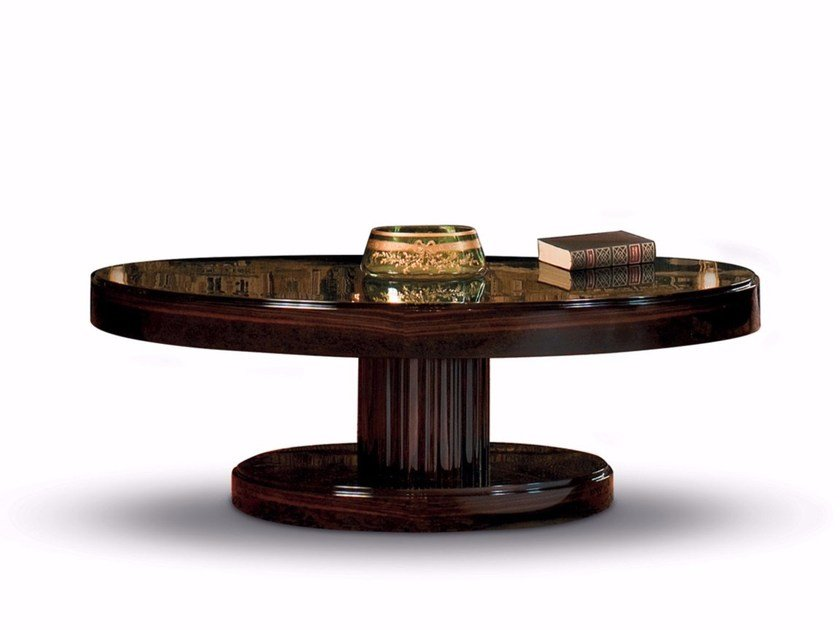 Low Oval Coffee Table JOSEPHINE SMALL TABLE | Oval Coffee Table By  Mascheroni