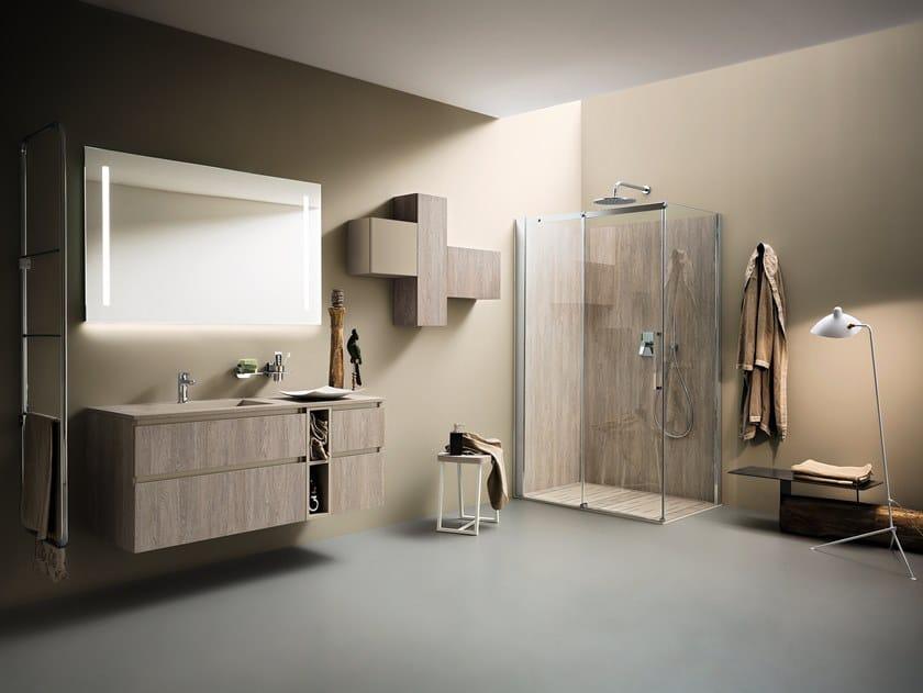 Arredo bagno completo JOY 10/11 By Cerasa design Stefano Spessotto ...