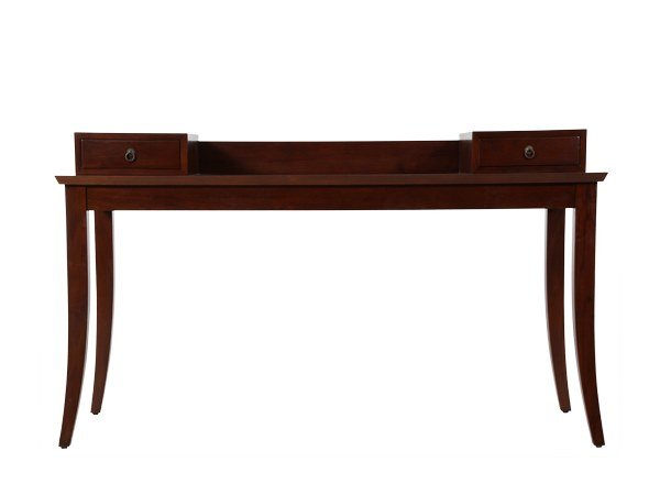 Rectangular writing desk with drawers JUJU | Writing desk by WARISAN