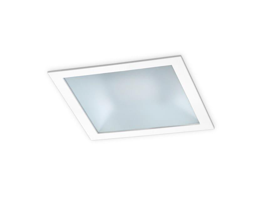 LED square recessed spotlight JUKE IP LED by INDELAGUE | ROXO Lighting