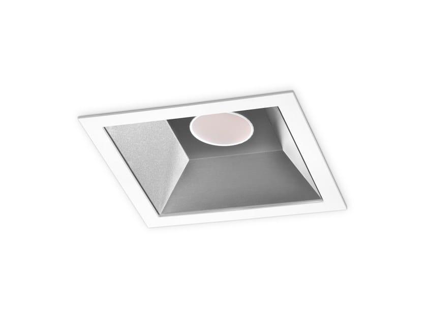 LED square recessed spotlight JUKE LED by INDELAGUE   ROXO Lighting