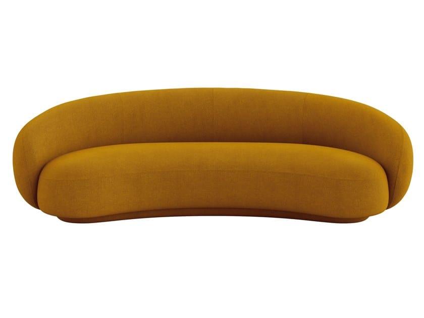 3 seater fabric sofa JULEP | Sofa by Tacchini