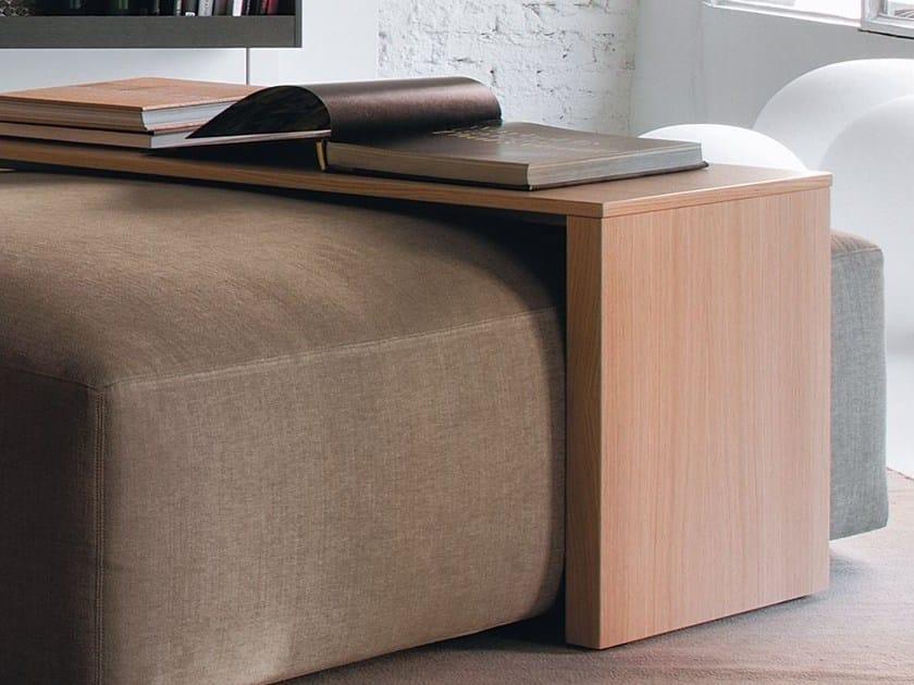 Rectangular wood veneer coffee table JULES by Verzelloni