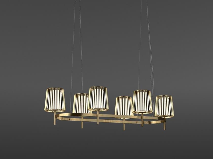 LED metal pendant lamp JULIA - LONG | Pendant lamp by Quasar