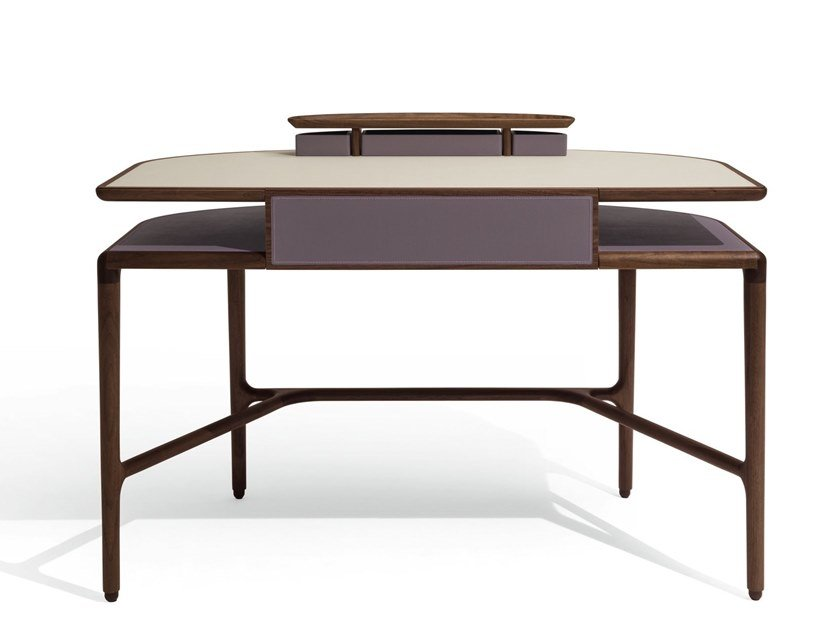 Walnut secretary desk JULIET by GIORGETTI
