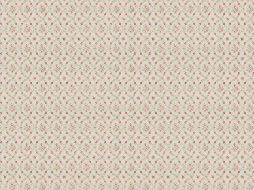 Cotton fabric with floral pattern for curtains JULIETA by Gancedo