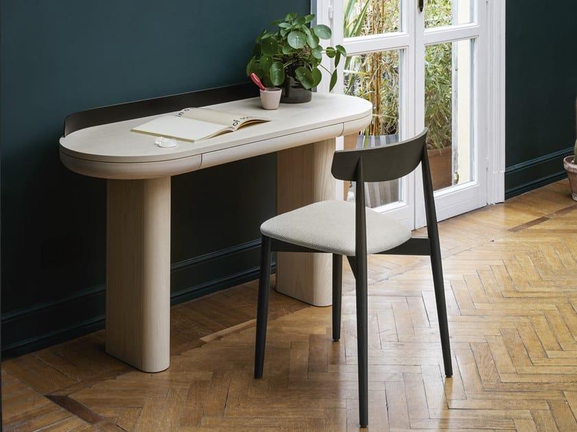 Schreibtisch aus Holz mit Schubladen JUMBO by Miniforms