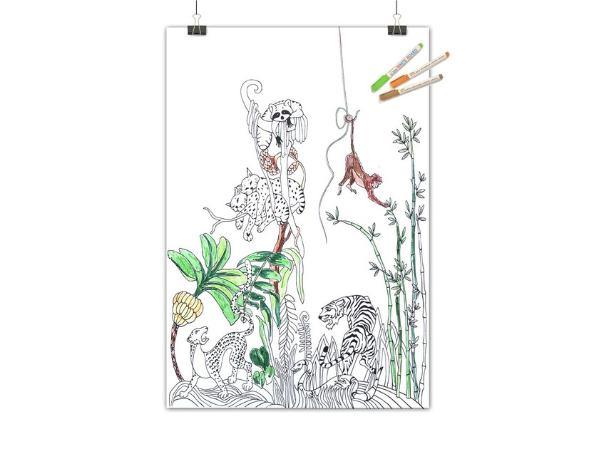 Lavagnetta magnetica JUNGLE by Groovy Magnets
