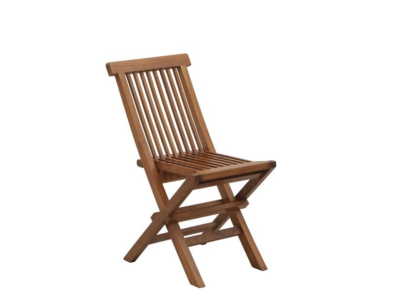 Folding teak garden chair JUNIOR | Folding chair by Il Giardino di Legno