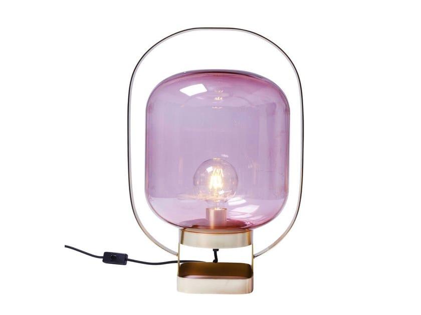 Lampada da tavolo JUPITER PINK-BRASS | Lampada da tavolo by KARE-DESIGN