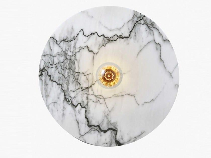 Handmade marble wall lamp JUPITER by RADAR INTERIOR
