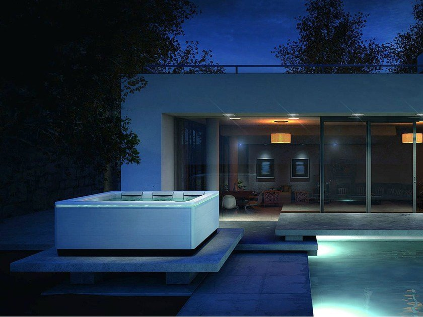 Outdoor hot tub JUST SILENCE | Outdoor hot tub by Villeroy & Boch