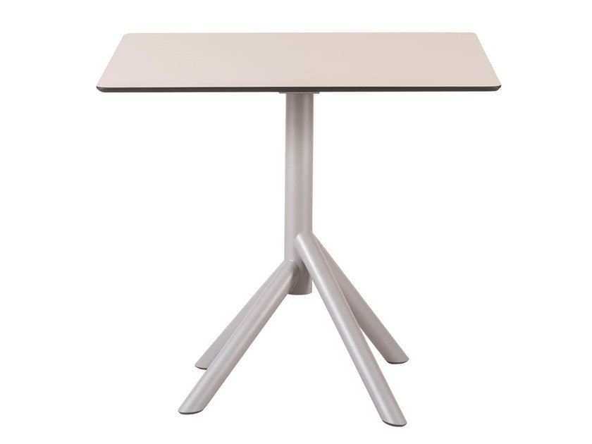 Folding square dining table JUXT | Square table by Segis