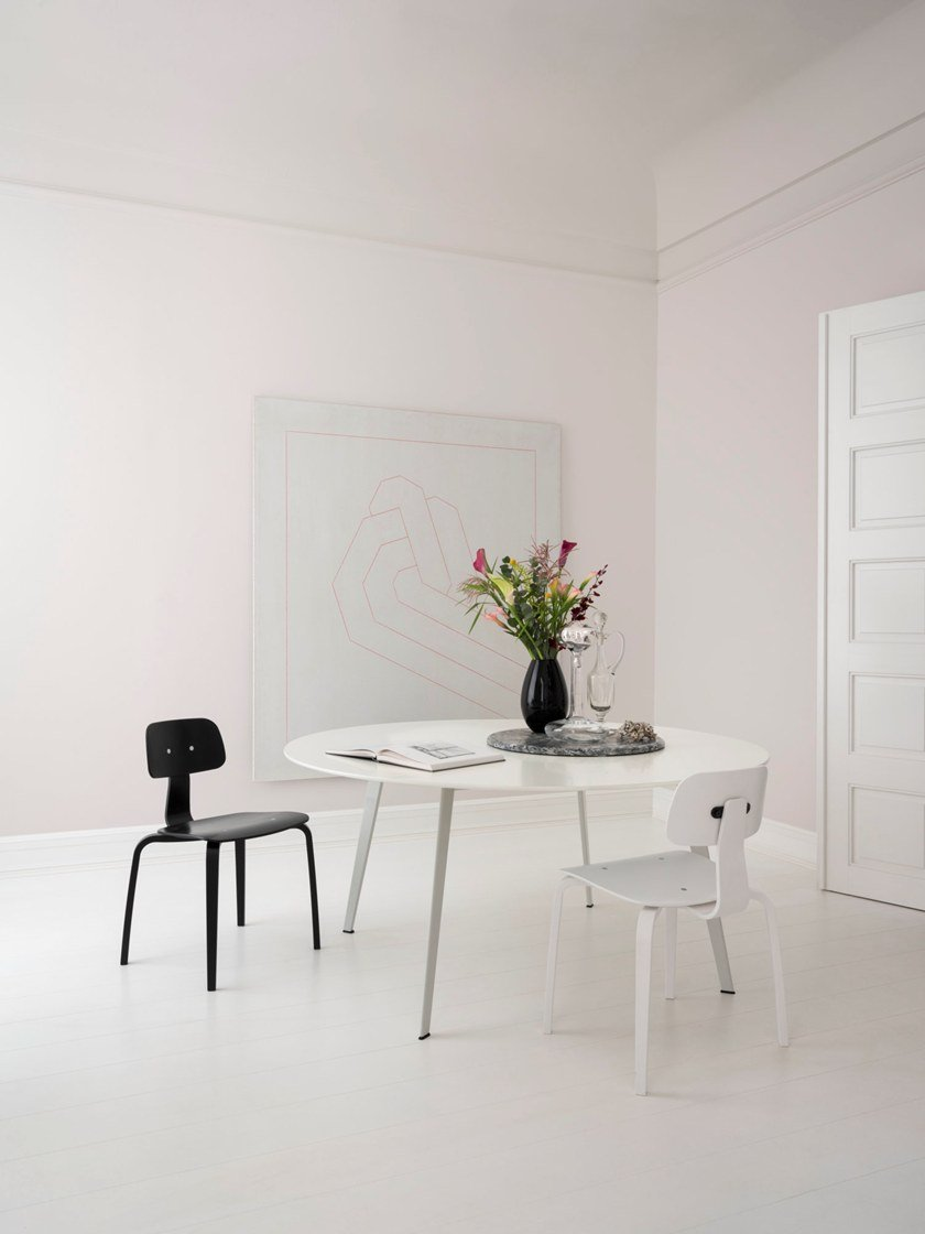 jw round linoleum table jw table collection by montana design jakob wagner