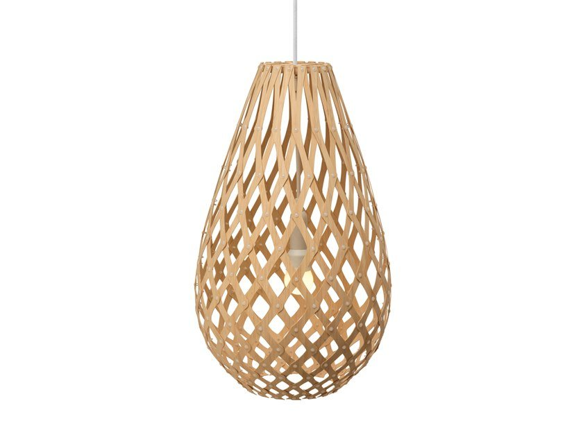 Pendant lamp KŌURA | Pendant lamp by David Trubridge