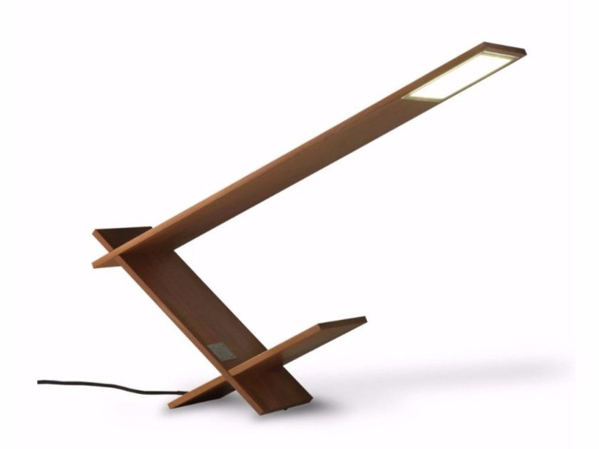 OLED wooden table lamp K-BLADE LAMP by Riva 1920