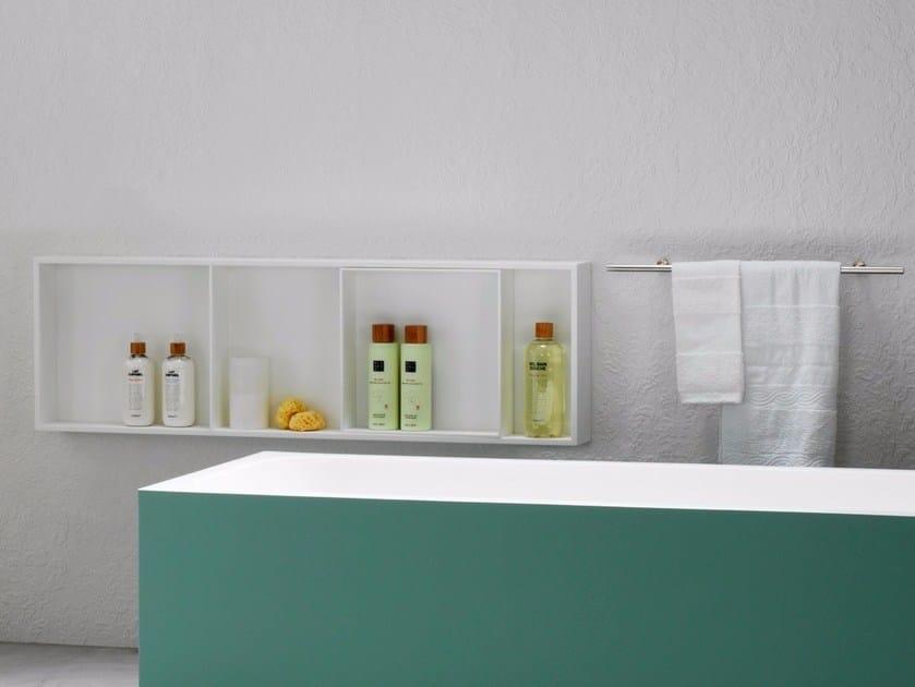 Krion® bathroom wall shelf K | Bathroom wall shelf by Systempool