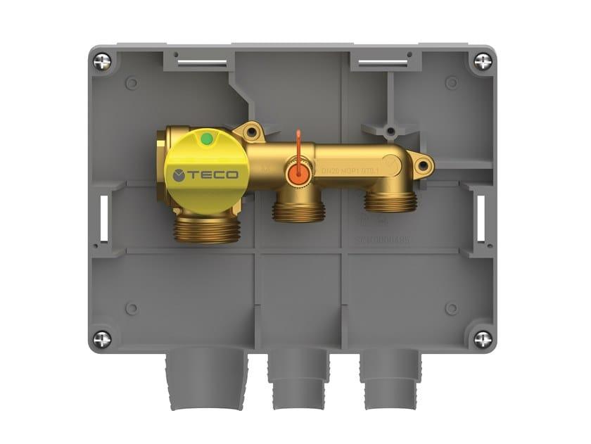 Two-port single shut-off gas manifold K2.3 by TECO