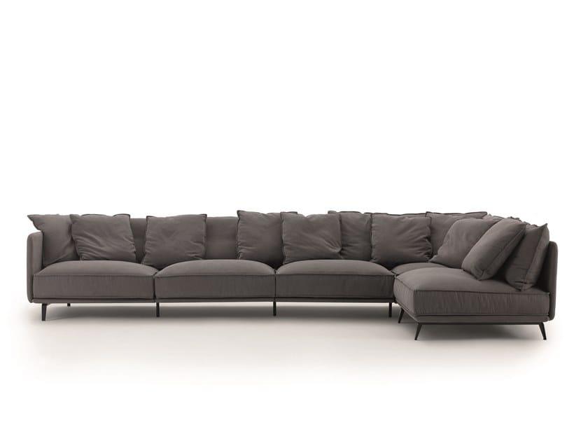 Sofá de tecido K2 by arflex