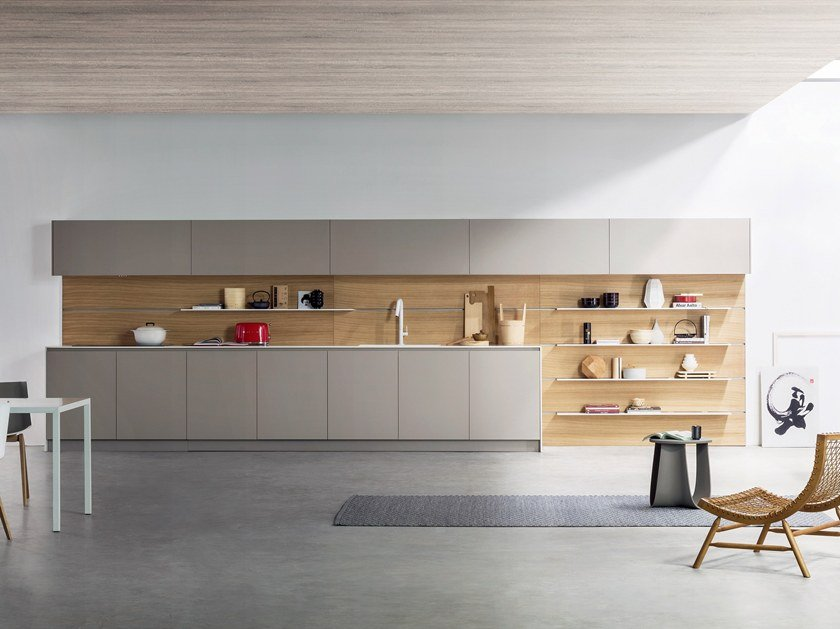 Cozinha lacada linear K6 | Cozinha by TM Italia Cucine