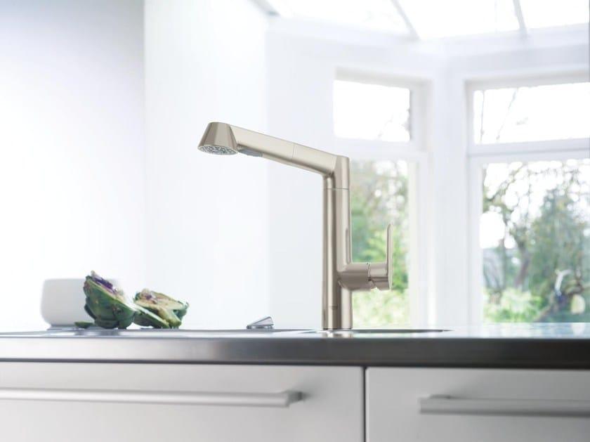 K7 | Miscelatore da cucina con doccetta estraibile