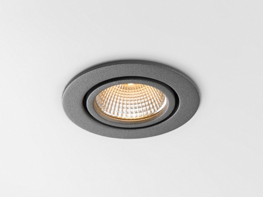 Faretto a LED orientabile da incasso K77 ADJUSTABLE by Modular Lighting Instruments