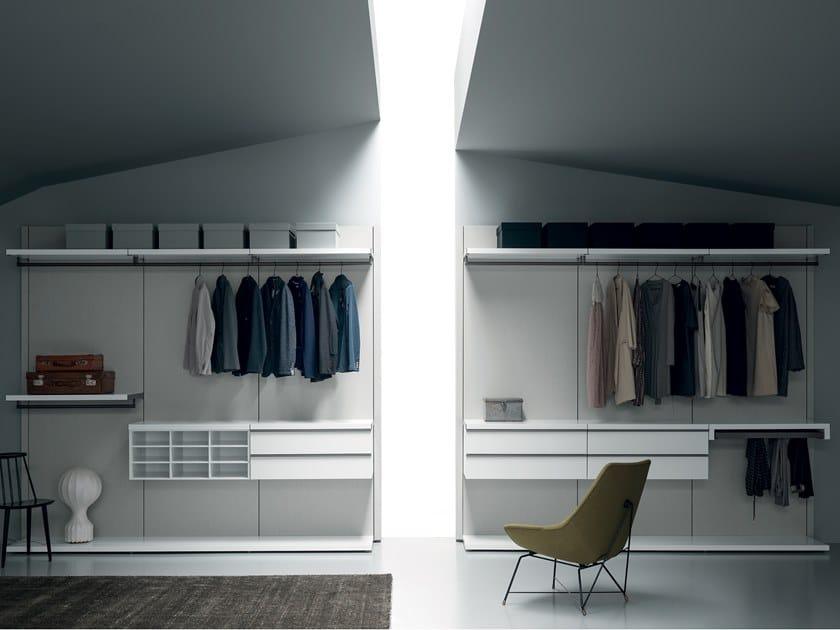 Sectional metal walk-in wardrobe KABINA BOISERIE by Md House