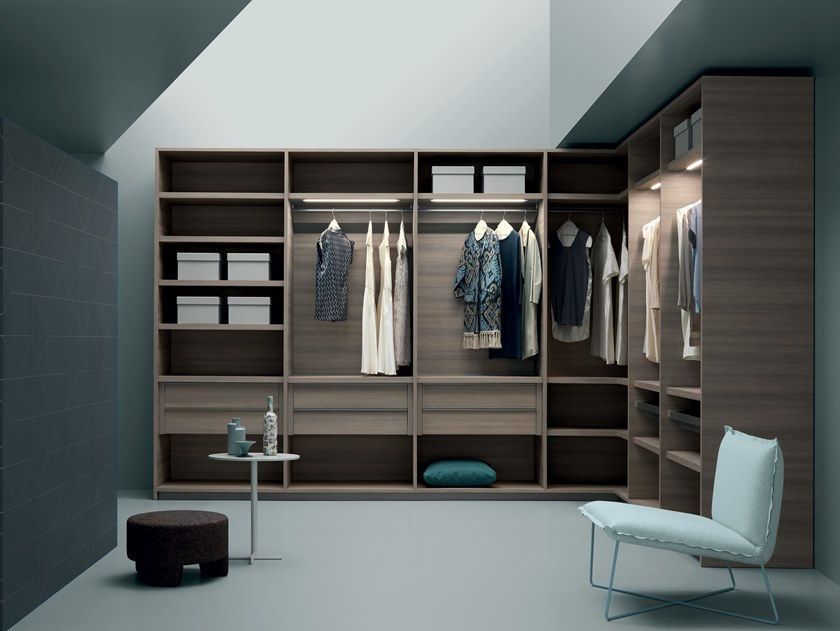 Sectional metal walk-in wardrobe KABINA BOXES by Md House
