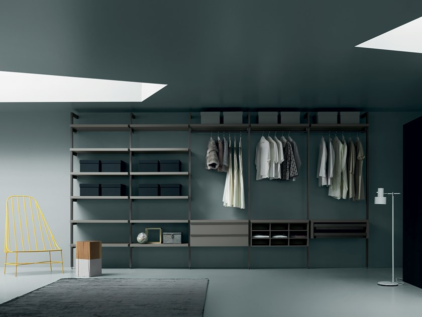 Sectional metal walk-in wardrobe KABINA KLOSET by Md House