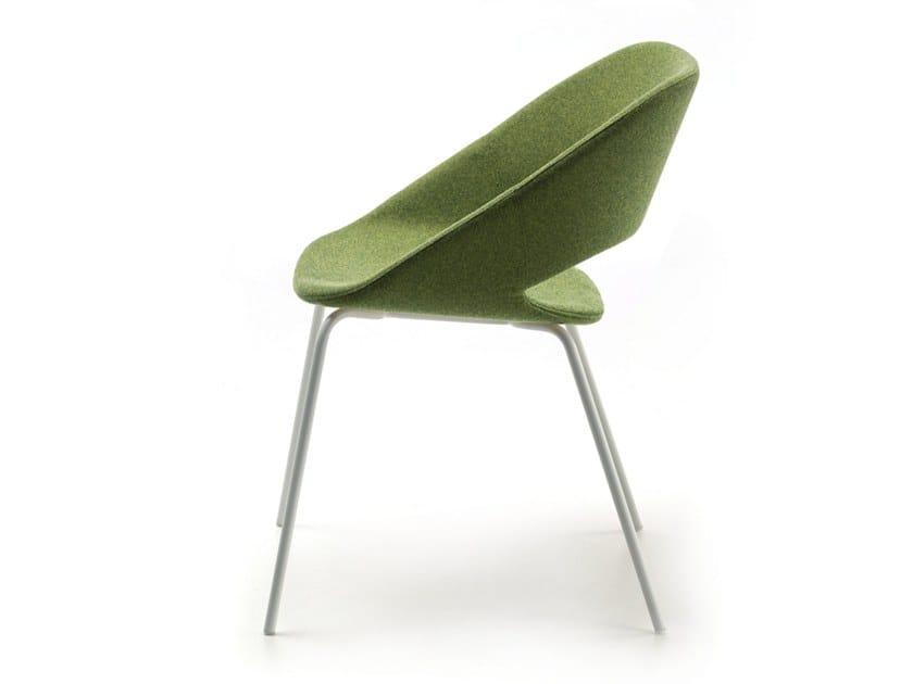 Fabric chair KABIRA FABRIC 4L by arrmet