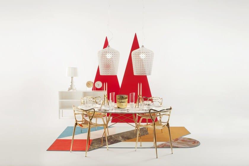 Kabuki Pendant Lamp By Kartell Design Ferruccio Laviani