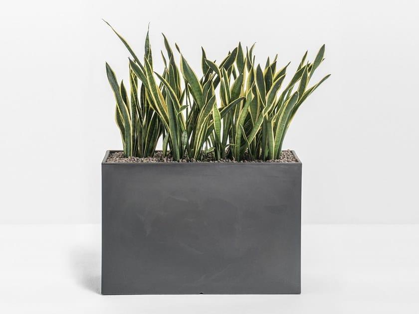 Садовая скамейка / ящик для цветов KADO by PEDRALI