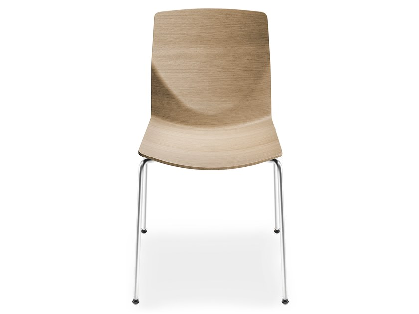 Stackable wooden chair KAI | Chair by Lapalma