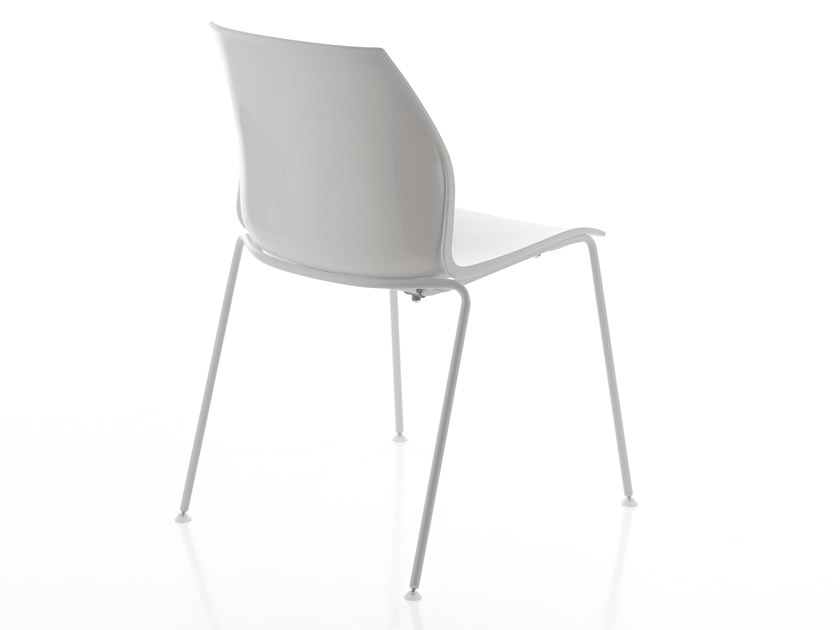 Polypropylene chair with linking device KALEA | Chair by Kastel
