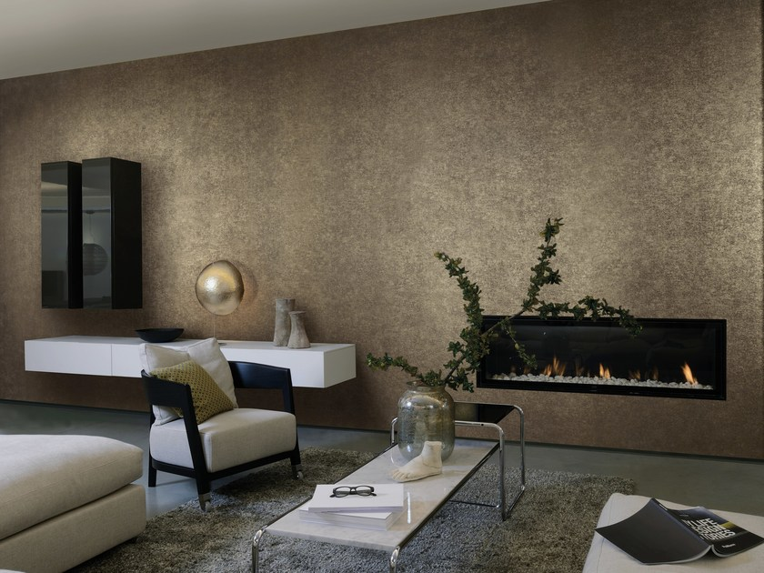 papier peint lavable en tissu non tiss kaleidoscope oxidized look by omexco. Black Bedroom Furniture Sets. Home Design Ideas