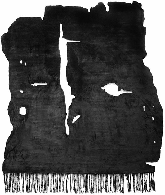Handmade rug KALIX NIGHT by HENZEL STUDIO