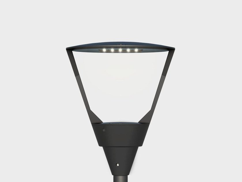 LED aluminium garden lamp post KALOS POST TOP by Cariboni group