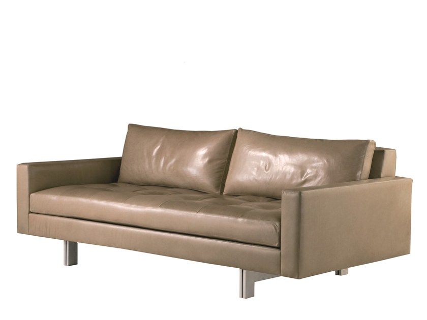 2 seater leather sofa KALUGA by Laval