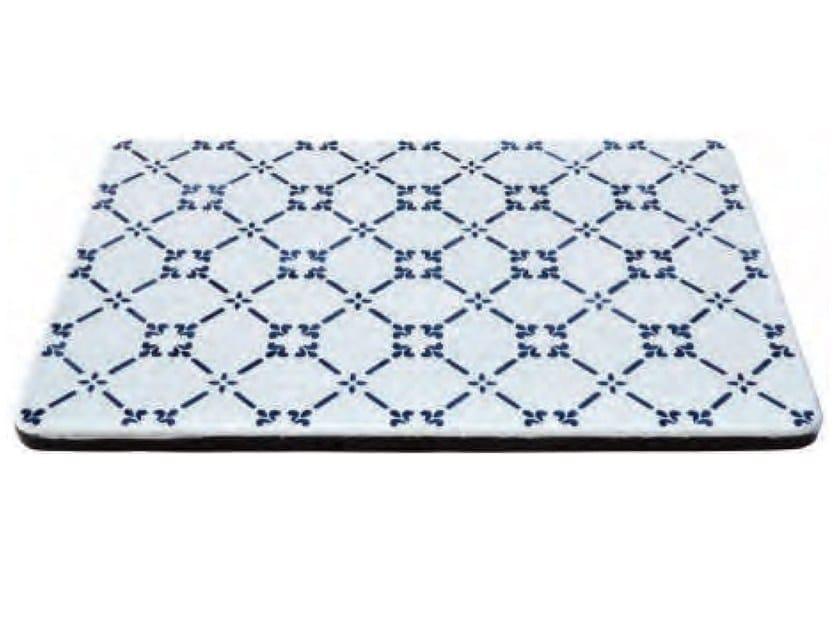 Lava stone tray KALURI NOVECENTO by Made a Mano